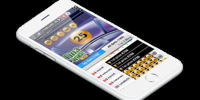 online lottery platform design for mobile