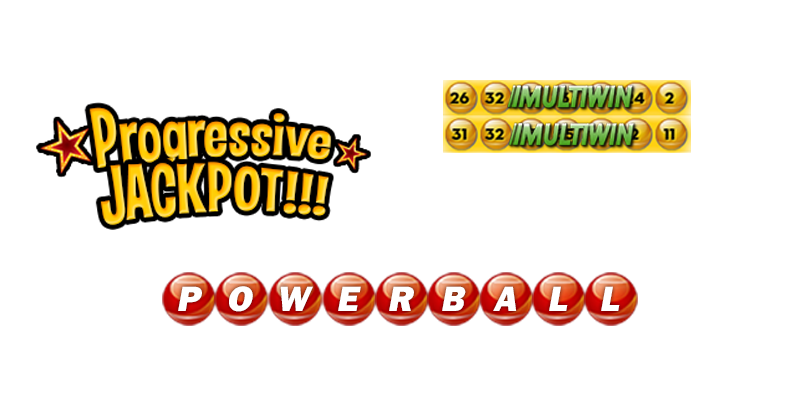 Jackpots, Progressives, Powerball options and more.