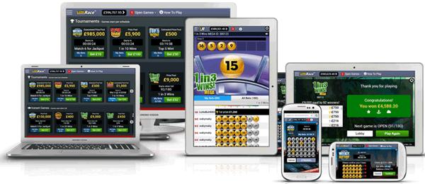 Online Mobile Lottery Platform