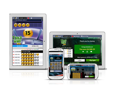 Lottery web site