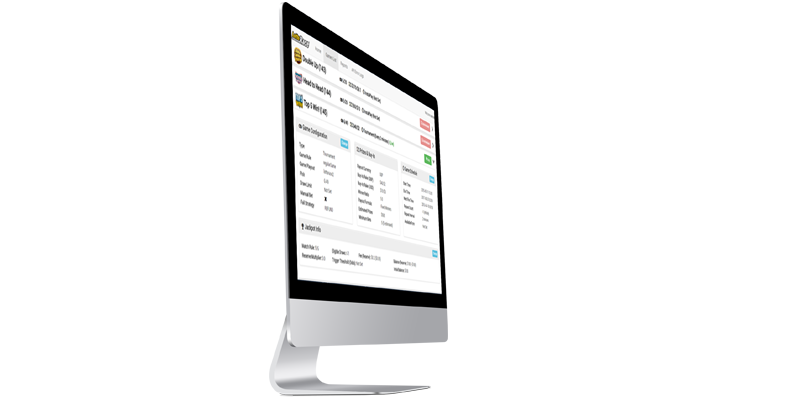 The LottoRace Betting Platform offers a robust and powerful backoffice